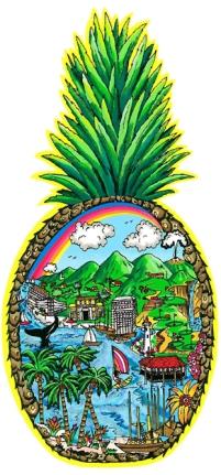 fazzino-3d-pop-art-cityscape-Hawaii-pineapple-LG