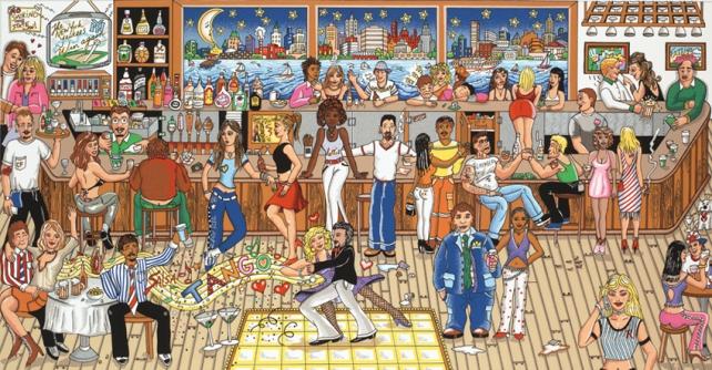 fazzino-3d-pop-art-new-york-street-scene-martinis-LG