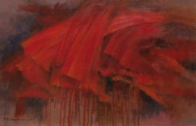 memories_2017, 45x70cm, oil on canvas